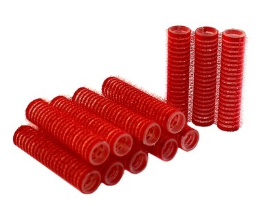 Rouleaux Velcro Rouge 13mmx12