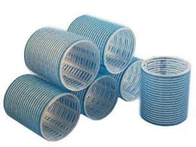 Rouleaux Velcro Bleu 56mm X6