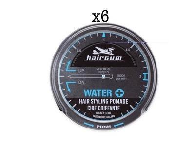 Lot de 6 Cires Coiffante Water 40g
