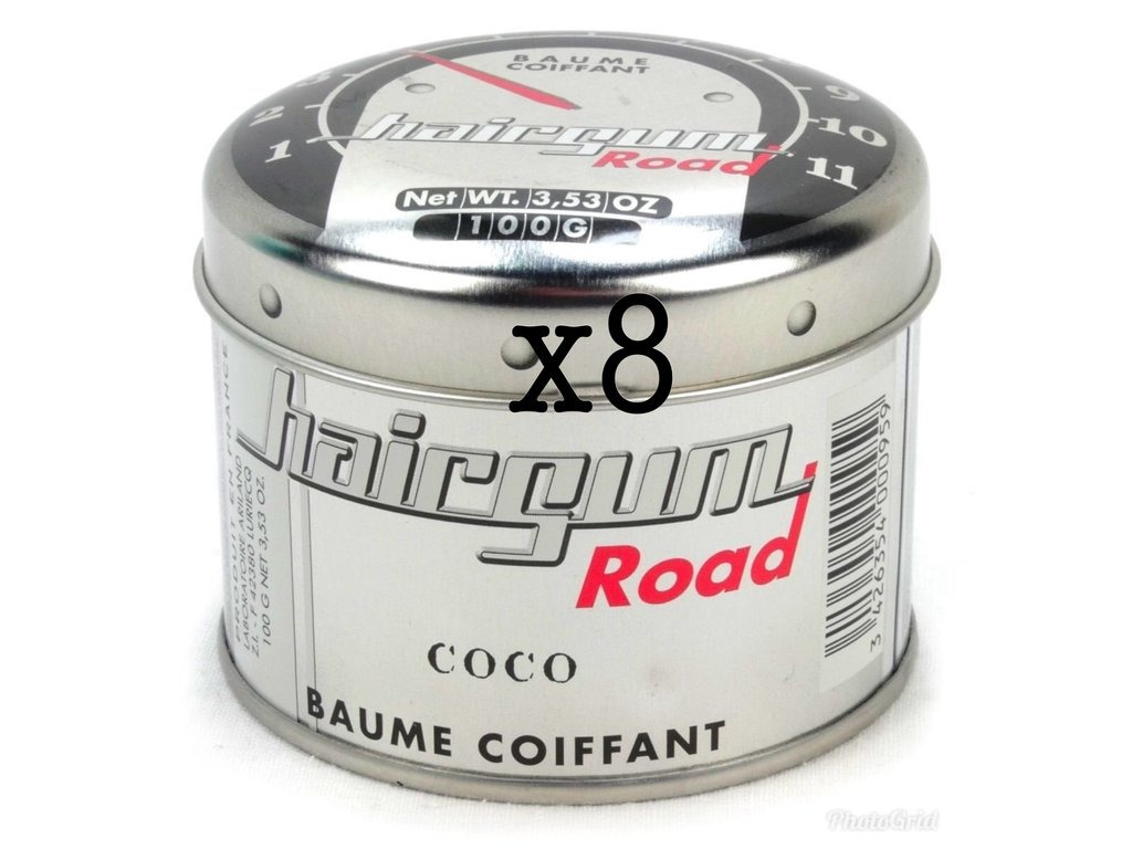 Lot de 8 Baumes Coco 100gr