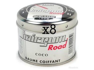 Lot de 8 Baumes Coco Hairgum 100gr