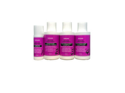 Kit de Lissage au Tanin Sunlake 3x100ml + 40ml