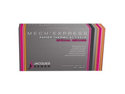 Papier spécial mèches Mech'Express Jacques Seban x250
