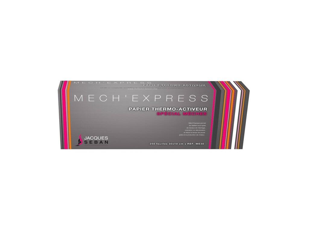 Papier mèches grand modèle Mech'Express Jacques Seban x250