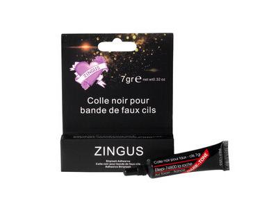 Colle noire pour bande de faux cils Zingus 7g