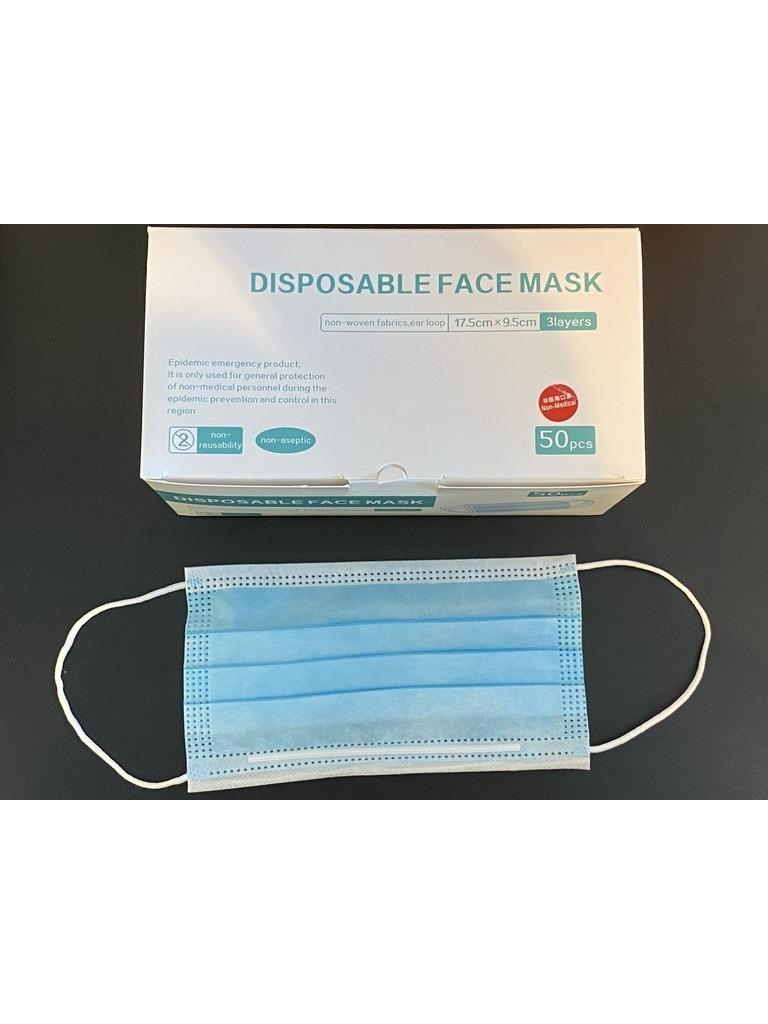 Masque chirurgicaux - 50pcs