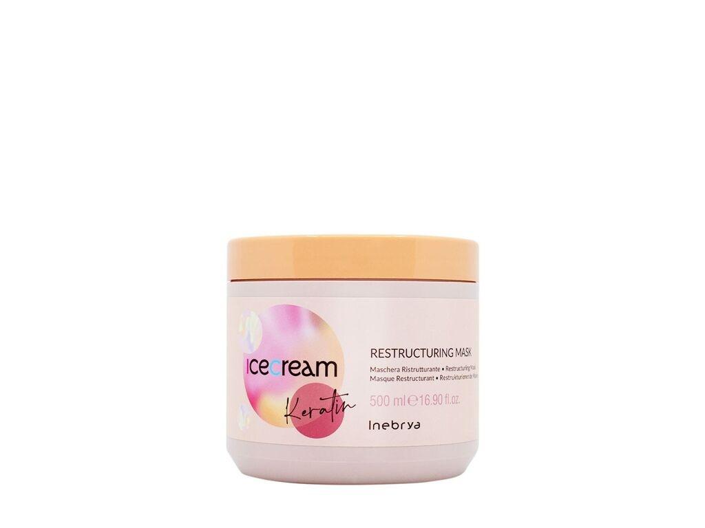 Masque Inebrya Ice Cream Keratin 500ml