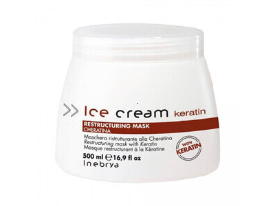 Masque Inebrya Ice Cream Keratin 500ml