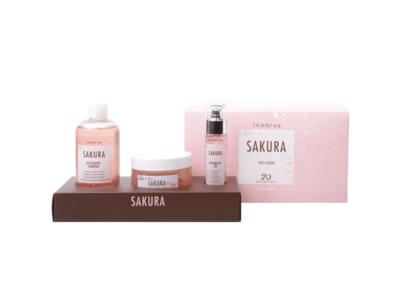 Kit Régénérant Sakura Inebrya 300ml+250ml+50ml