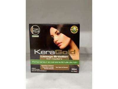 Lissage Brésilien KeraGold Pro 3x120ml