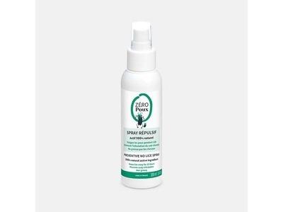 Zéro Poux Spray Répulsif 100ml