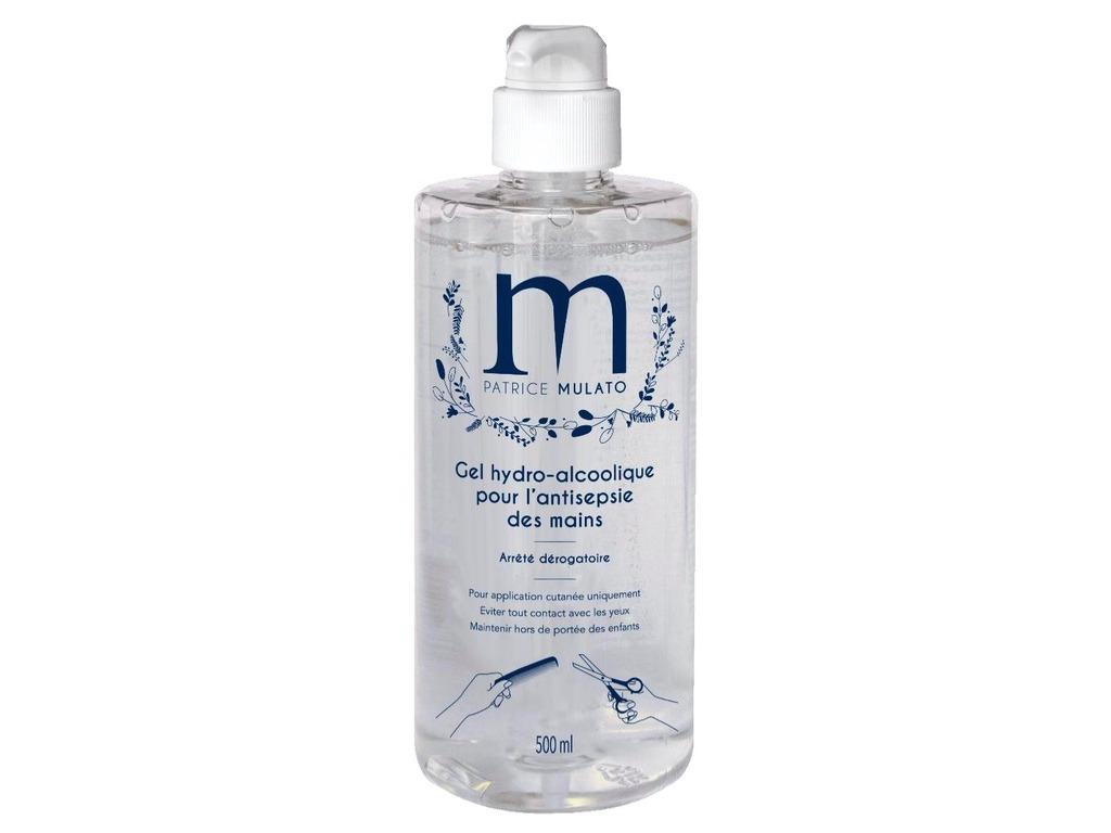 Gel hydro-alcoolique Mulato 500ml - Pack de 12
