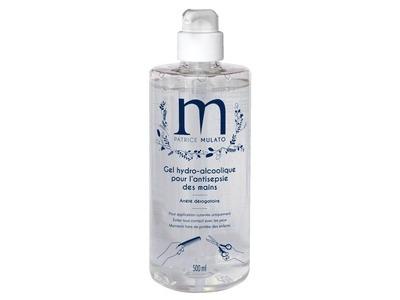 Gel hydro-alcoolique Mulato 500ml - Pack de 6