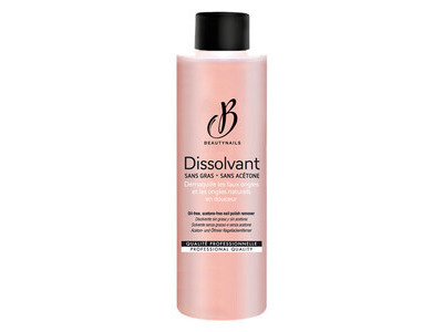 Dissolvant Sans Acétone Beautynails 500ml