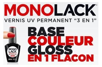 Monolack Vernis UV 3en1 8ml