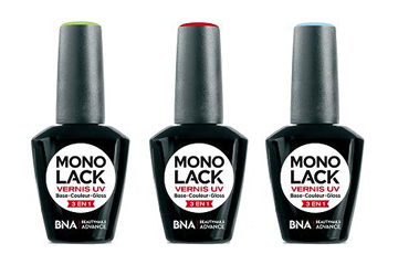 Pack de 3 Vernis UV 3en1 Monolack 8ml