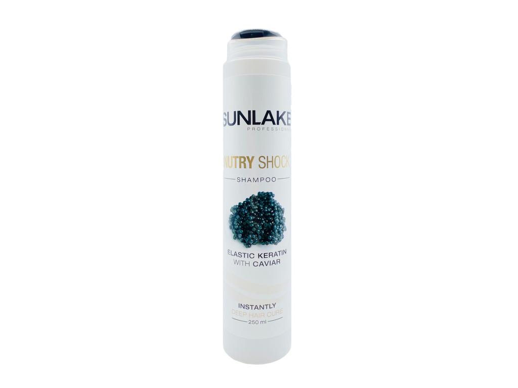 Shampoing Nutry Shock Kératine&Caviar Sunlake 250ml