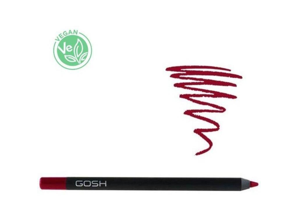 Lipliner waterproof Velvet Touch The Red Gosh  1,2g