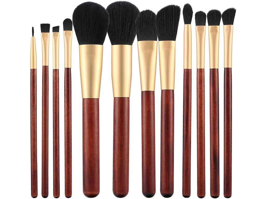 Kit de 12 Pinceaux Maquillage MIMO TB