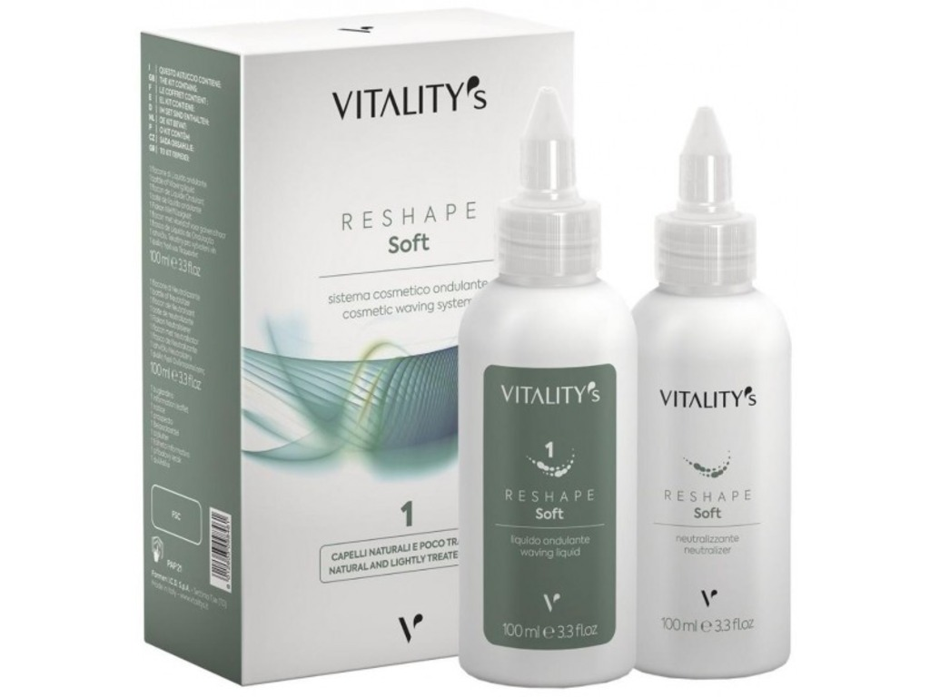 Lot de 6 - Permanente Reshape Soft N°1 Vitality's