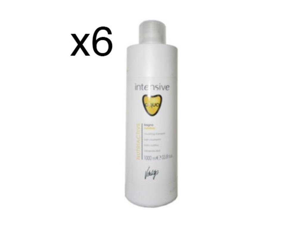 Bain Aqua Nutriactive 1L - Lot de 6