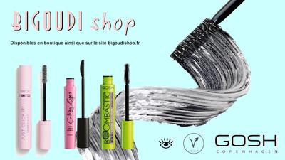 Mascaras Gosh avec Bigoudi Shop